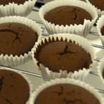 chokolade muffins med dejlig after eight